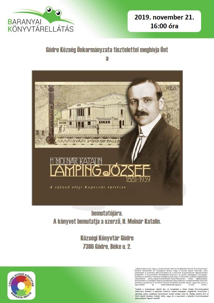 Lamping József könyvbemutató