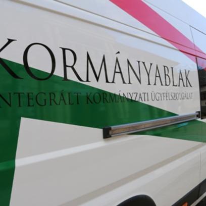 A Kormányablak Busz ismét Gödrére érkezik