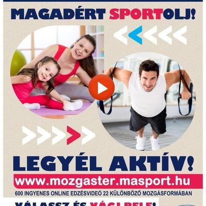 Magadért Sportolj